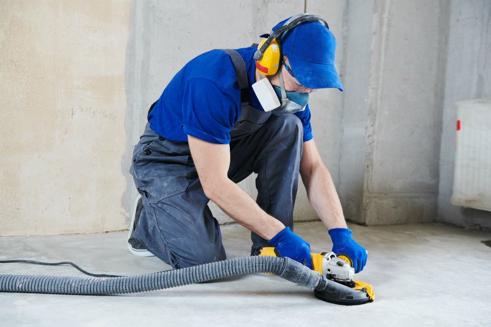 cost of epoxy flooring - initial concrete repairs
